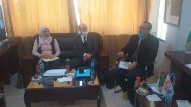 Photo of جلسة عمل مع نائب رئيس الكنفدرالية الجزائرية لأرباب العمل