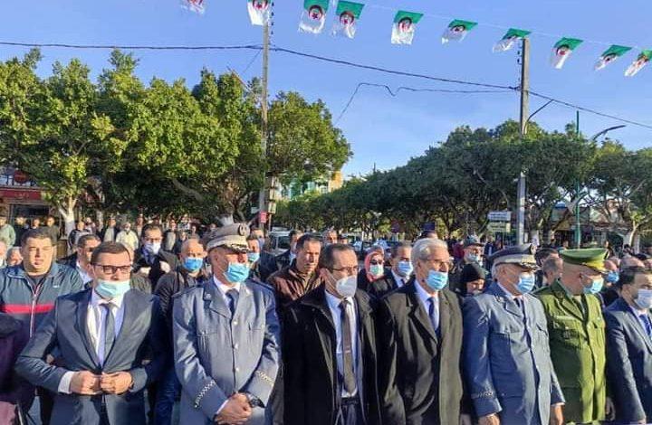 Photo of الدكتور محمد يونسي يشارك في الإحتفال باليوم الوطني للشهيد