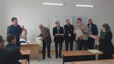 Photo of نجاح تنظيم مسابقة الدكتوراه في ظروف جيدة