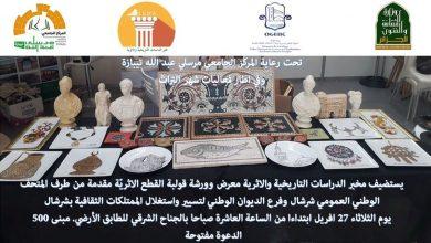 Photo of معرض خاص يشمل عرض الاجهزة والمواد المستعملة بالمتحف