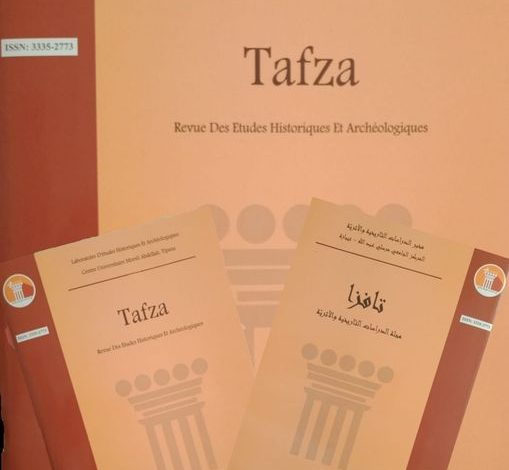 "Photo of إعلان دعوة للنشرفي مجلة الدراسات  التاريخية و الأثرية""تافزا"""