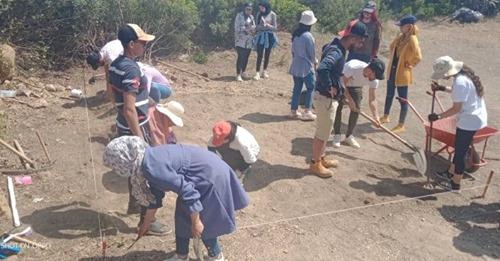 Photo of حفرية الموقع الأثري بالقرية السياحية تيبازة CET